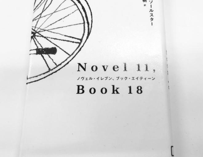 ノルウェーの作家の本の話  ダーグ・ソールスター「Novel 11, Book 18」