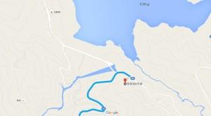松野湖周辺