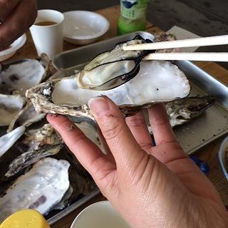 初めての牡蠣食べ放題 行ってきました(#^.^#)